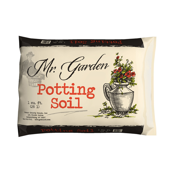 POTTING SOIL - $5.00 per bag