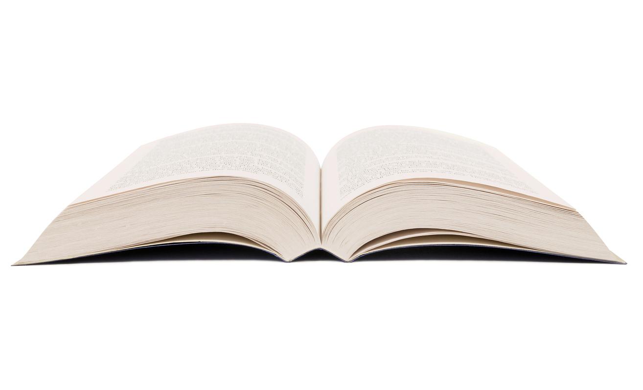 I want a book. -