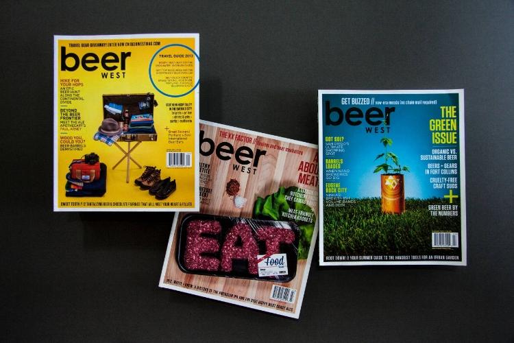 Various articles - BeerWest magazine