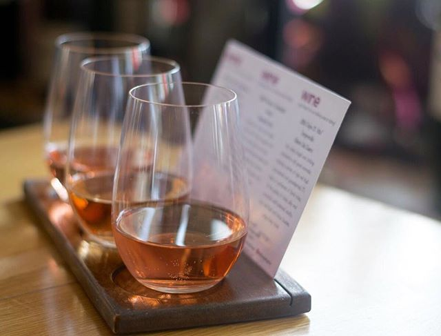 Yes way, rosé! Discover your favorite flavors when you make it a flight.