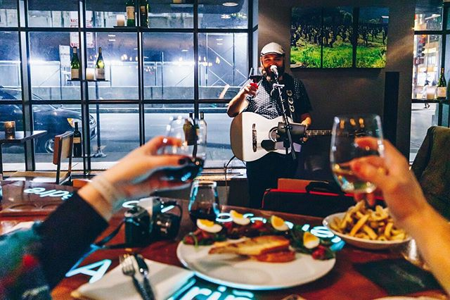 All wine has notes—but ours makes music. Join us each Wednesday through Friday from 5:30-9 pm for a variety of soulful performances.