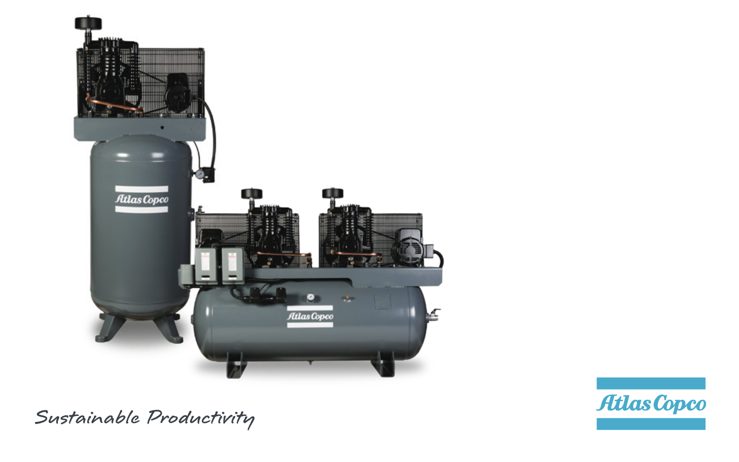 AR SERIES – Contractor – Medium Duty Reciprocating Air Compressors    2-20 HP Single & Two Stage, Simplex, Duplex, Portable Electric & Gas    Ideal for Contractors, Automotive, & Small to Medium Shops.