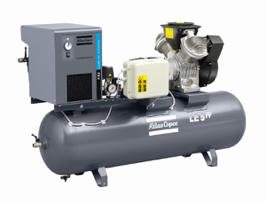 LFx – LF SERIES – Direct Drive, Oil Free Reciprocating Air Compressors      ¾-10 HP, Simplex, PowerPak, Base & Tank Mounted    Ideal for Medical, Dental, Food & Drug, Water Treatment & OEM Applications requiring Oil-Free Compressed Air
