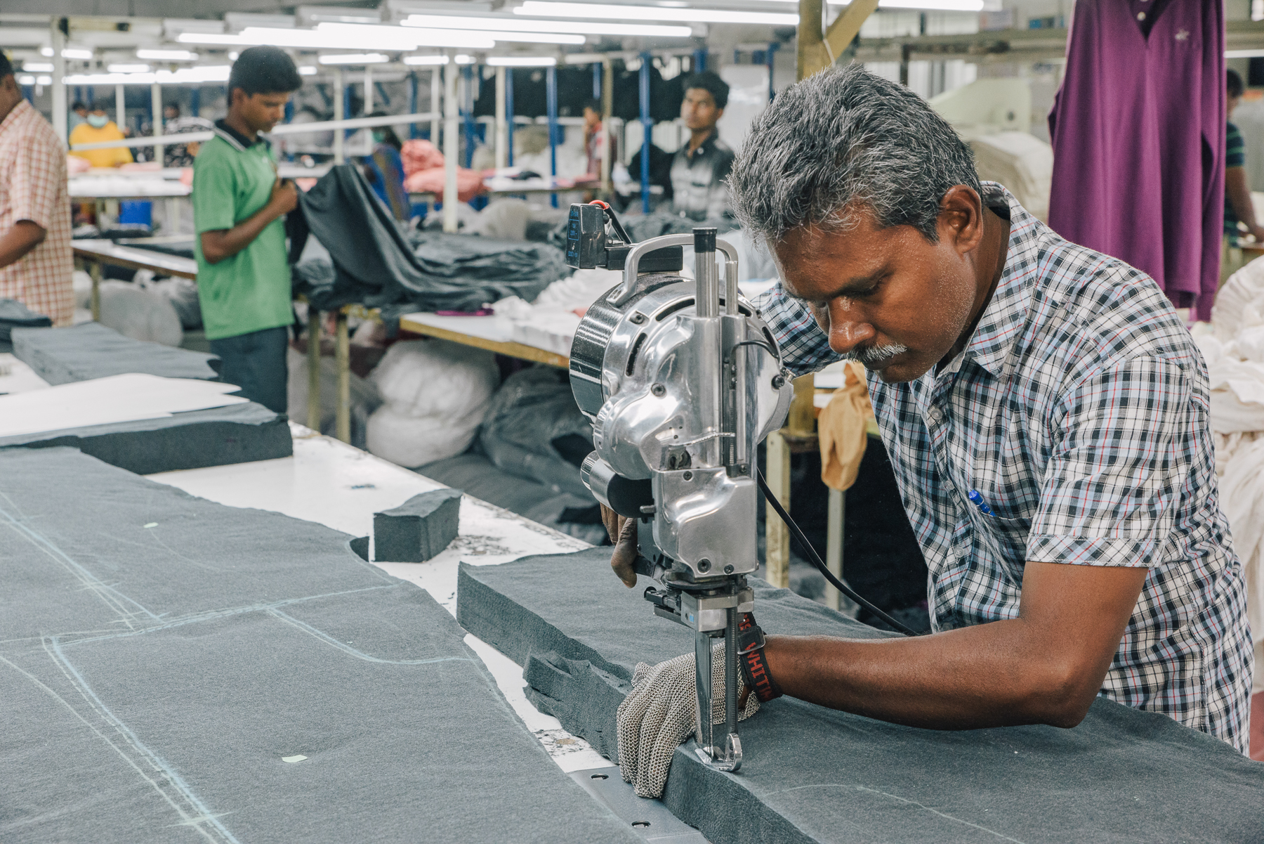 Pact  clothing is made it Fair Trade Certified Factories which provides better wages and working conditions for employees.
