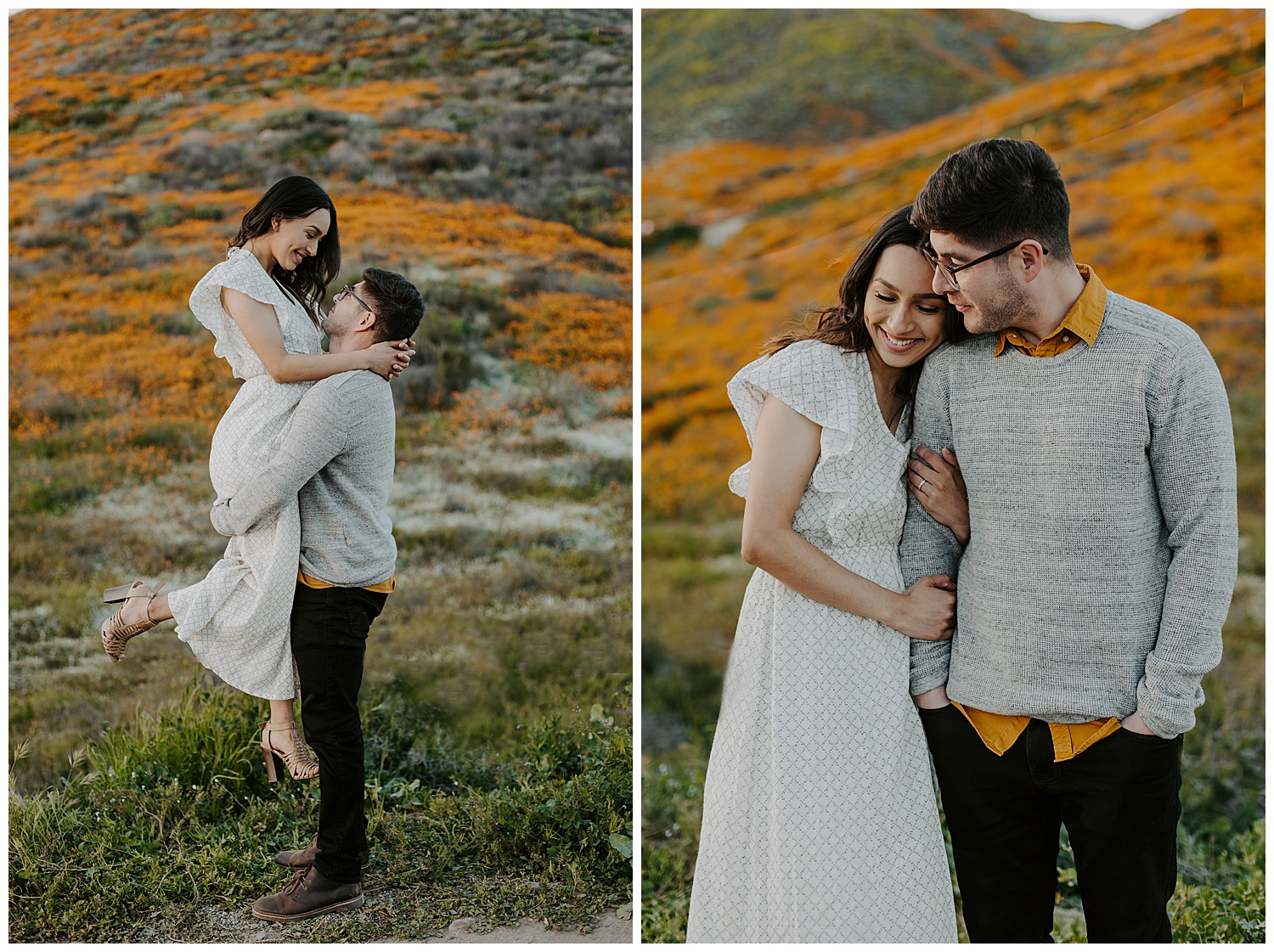 Poppy-Field-Engagement-Photos
