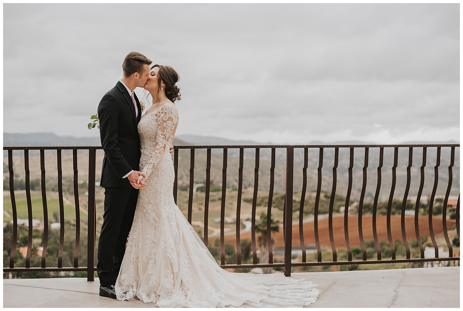 Romantic Rainy Day Wedding at Cordiano Winery