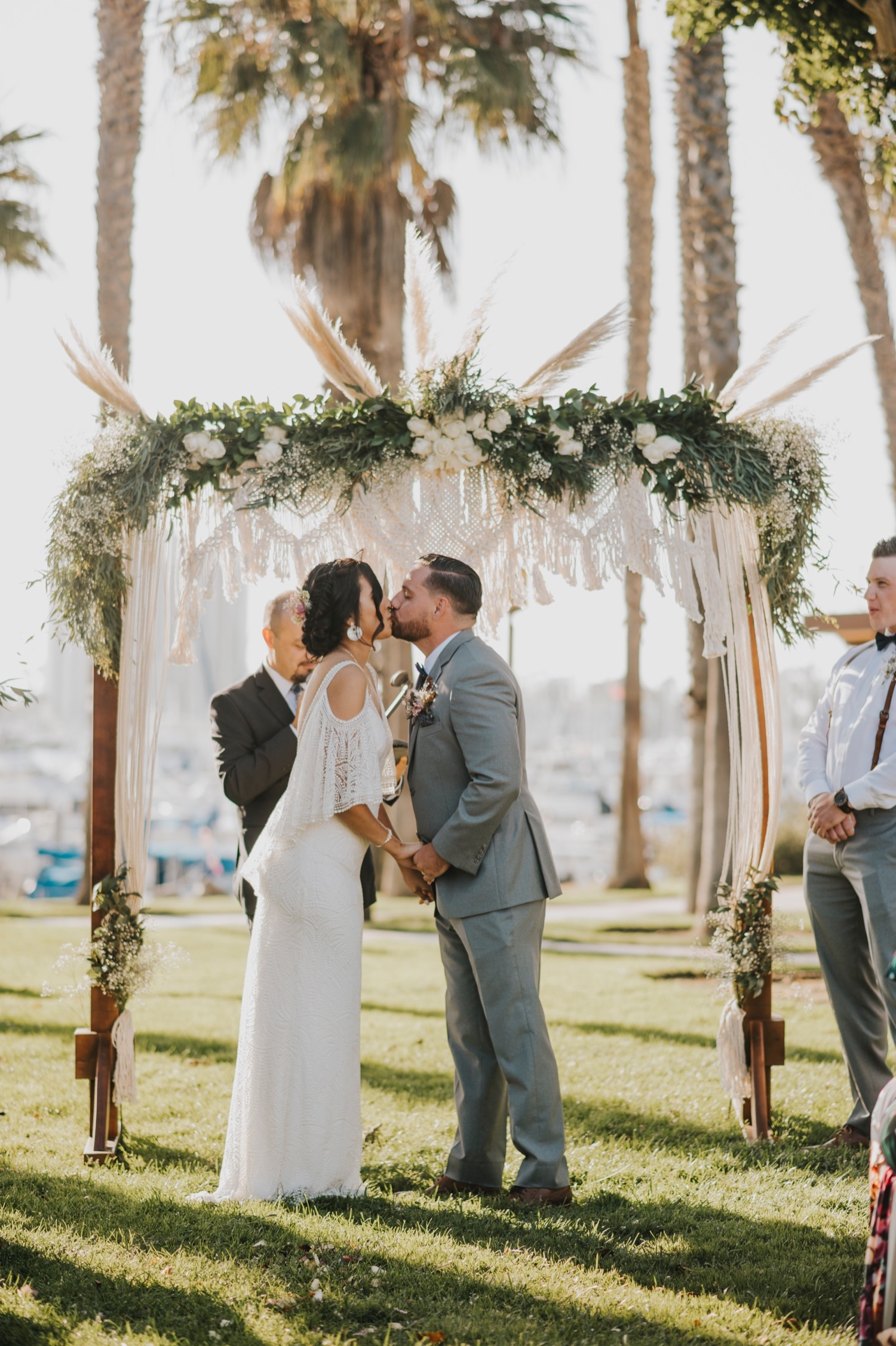 San Diego Boho Wedding