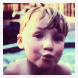 Jonathan as a child