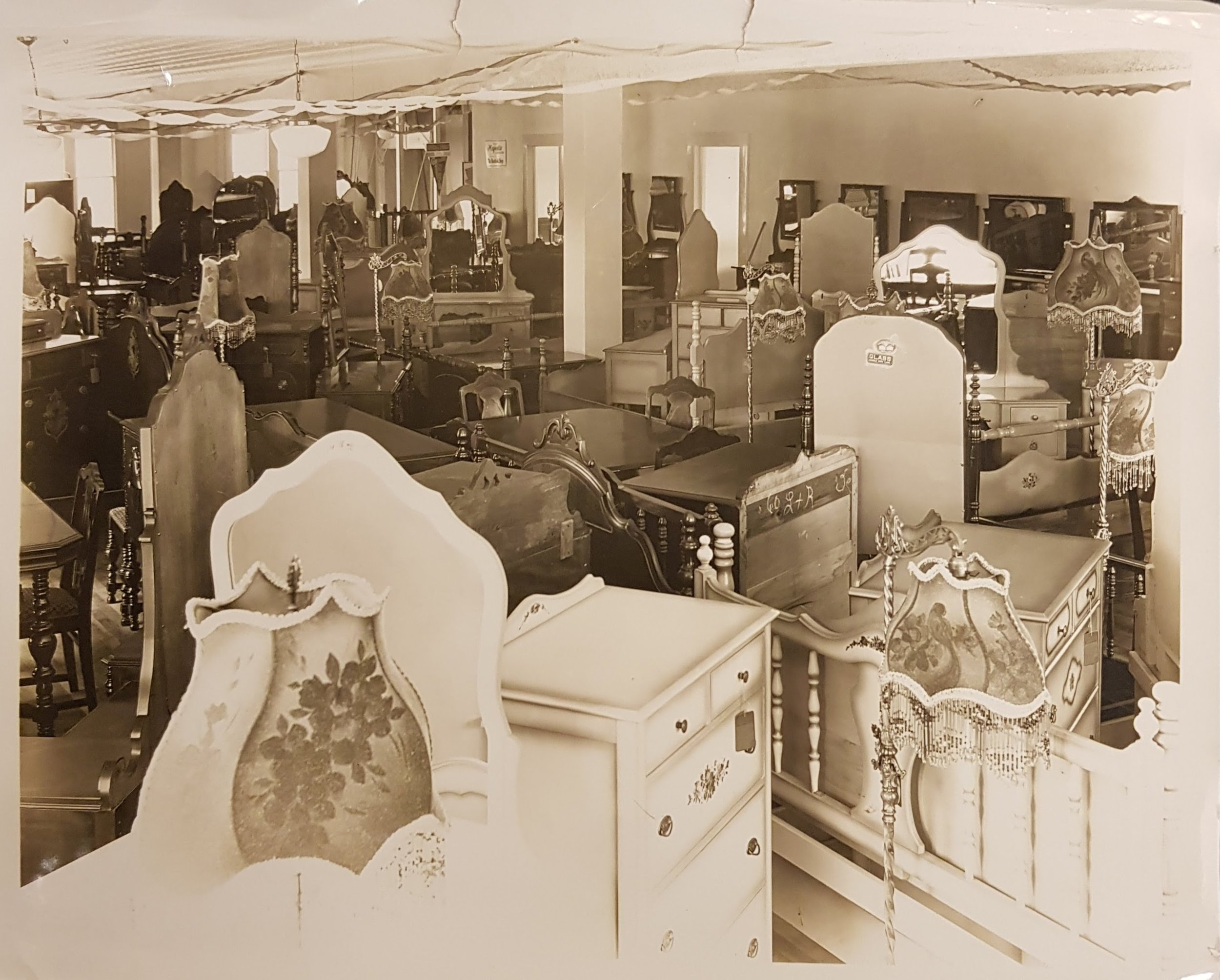 Grand Opening of C.J. Ludewig Furniture Co in our current building, 1929.