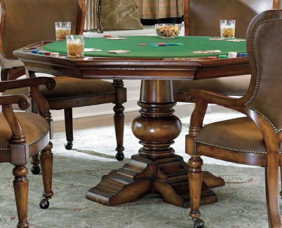 Reversible Top Poker Table by Hooker