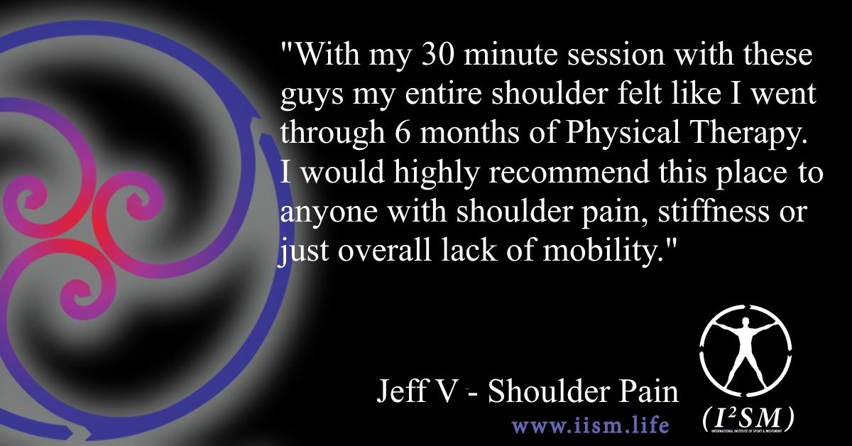 Shoulder Tear and Poor Range of Motion