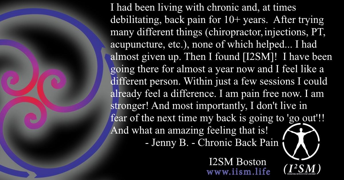 Chronic, Debilitating Back Pain
