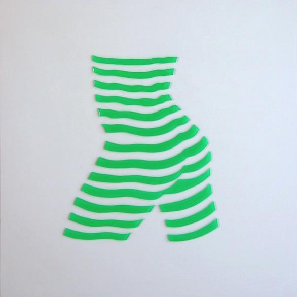 """Stripe Study#5. 10""""x10""""x1"""""""