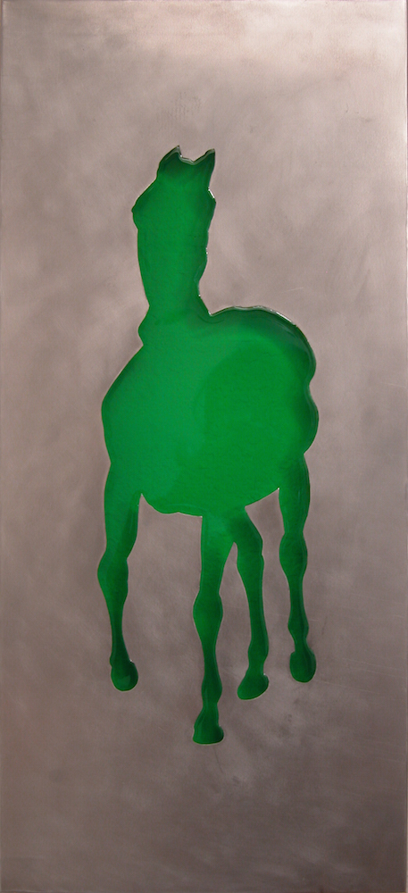 """Horse Substrate. 2005.  18""""x8"""""""