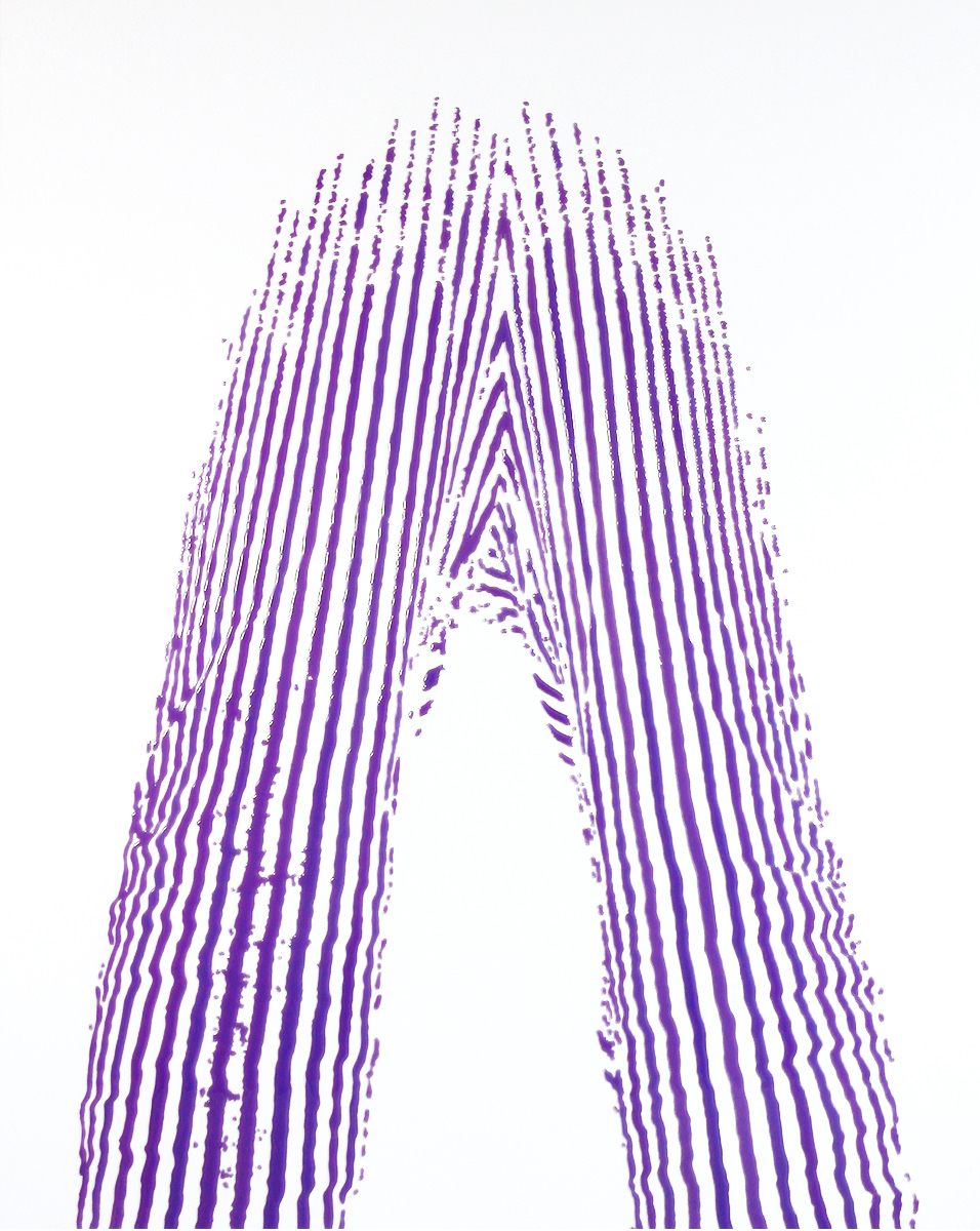 """The Essence of Standing. 50""""x40""""x1.5"""".2007"""