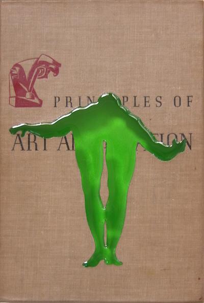 """Art Appreciation. 10""""x7"""". 2004"""