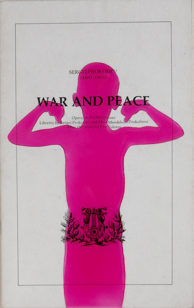 """War and Peace. 10""""x7"""". 2005"""