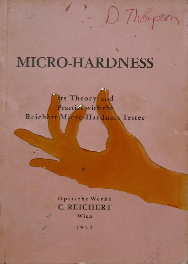 "MicroHardness. 8""x6"". 2004"