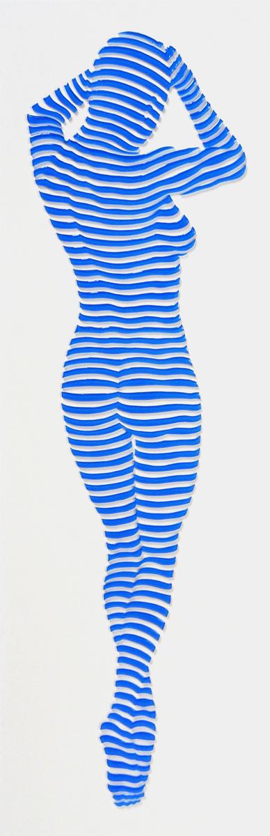 "StripePose Study#88. 18""x6""x1.5"""