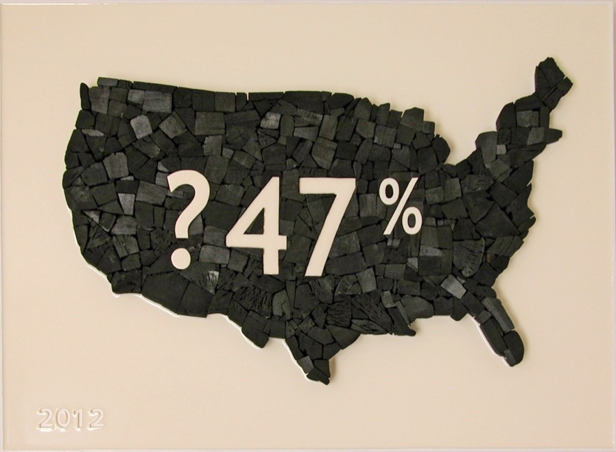 ?47%. Charcoal and Resin. 2012