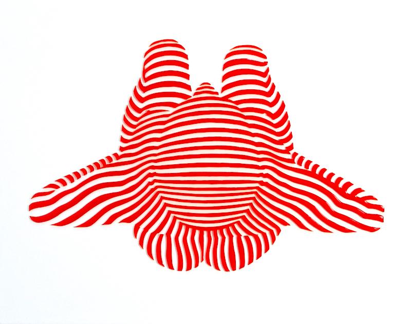 "StripePose Study #95. 11""x14""x1"""