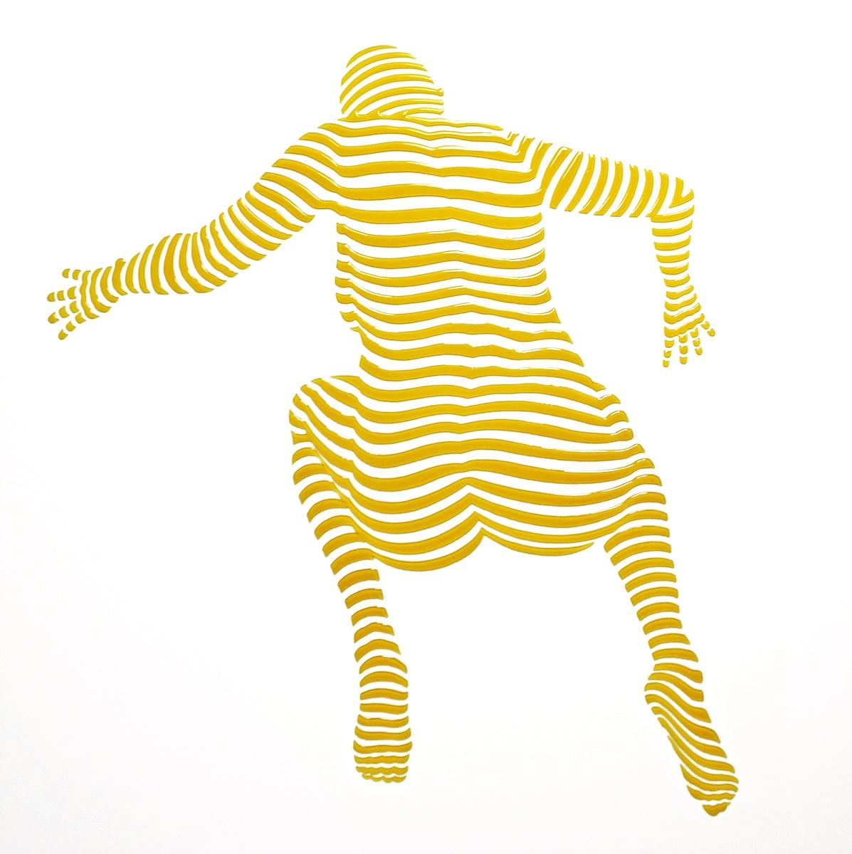 "StripePose #33. 24""x24""x1.5"""