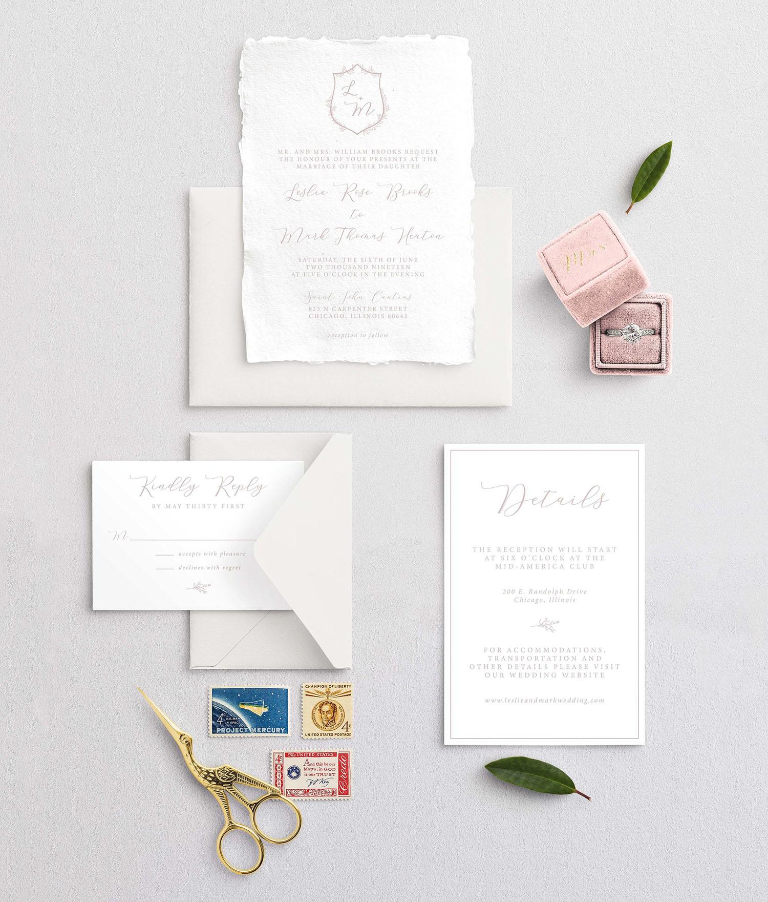 Semi-Custom Invitations -