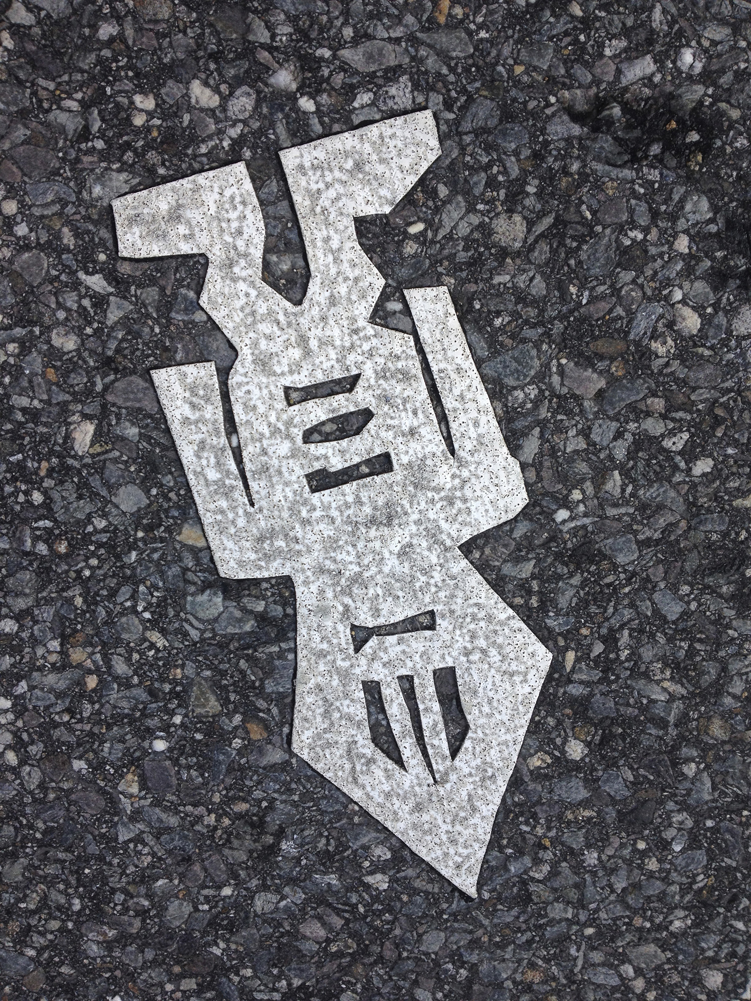 Traces - Humans leaving their mark.