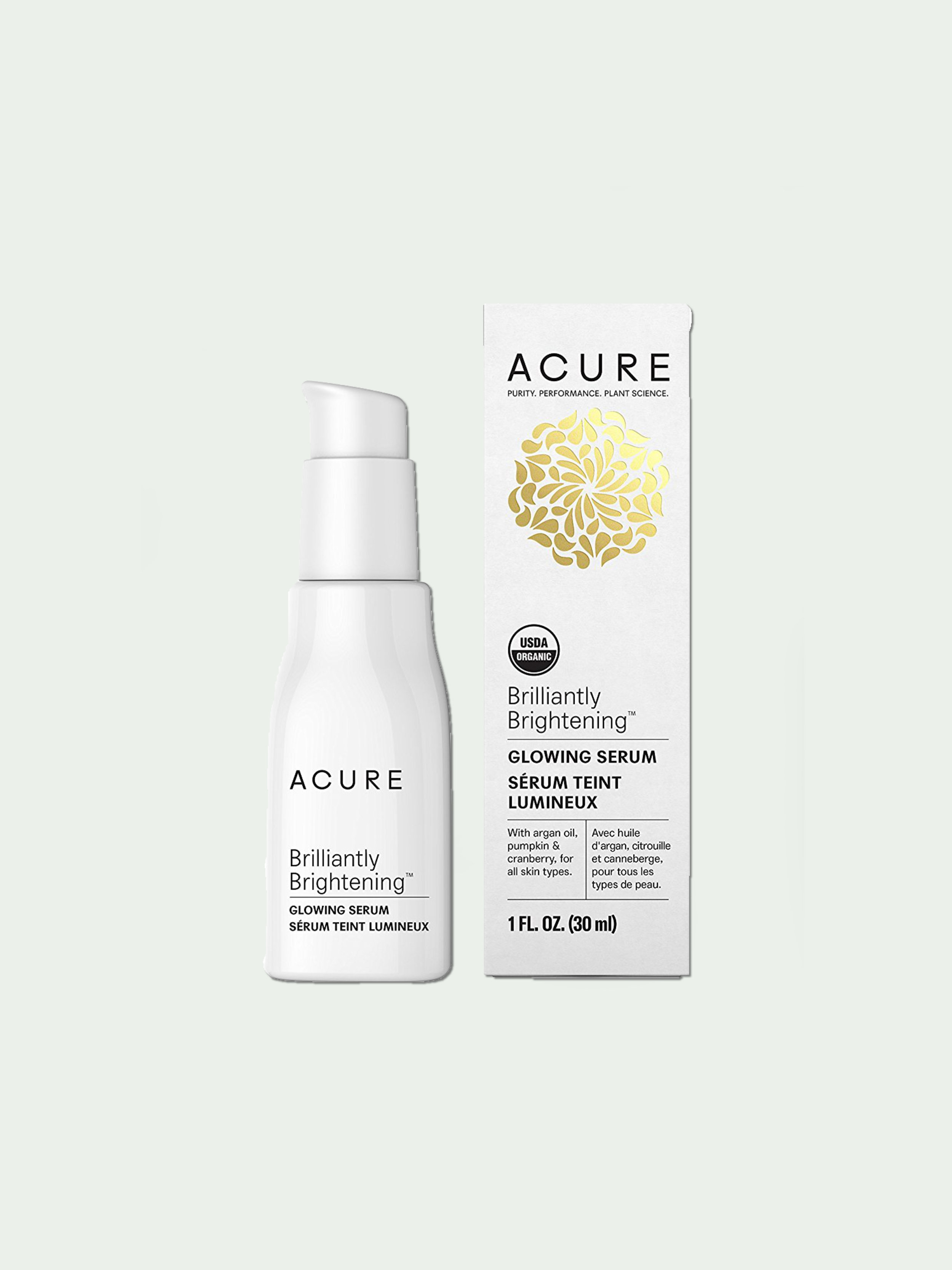 Acure Brilliantly Brightening Glowing Serum - This refreshingly-scented organic serum keeps my skin radiant and moist on dry summer days. All it takes is one little pump to moisten my naturally dry face! I have been using Acure's skin products on my face for a couple years and absolutely love that their products are organic, vegan, paraben, pthalate, and sulfate-free. This serum contains argan and borage oils which help to restore moisture — perfect for hot and dry summer days if you ask me!