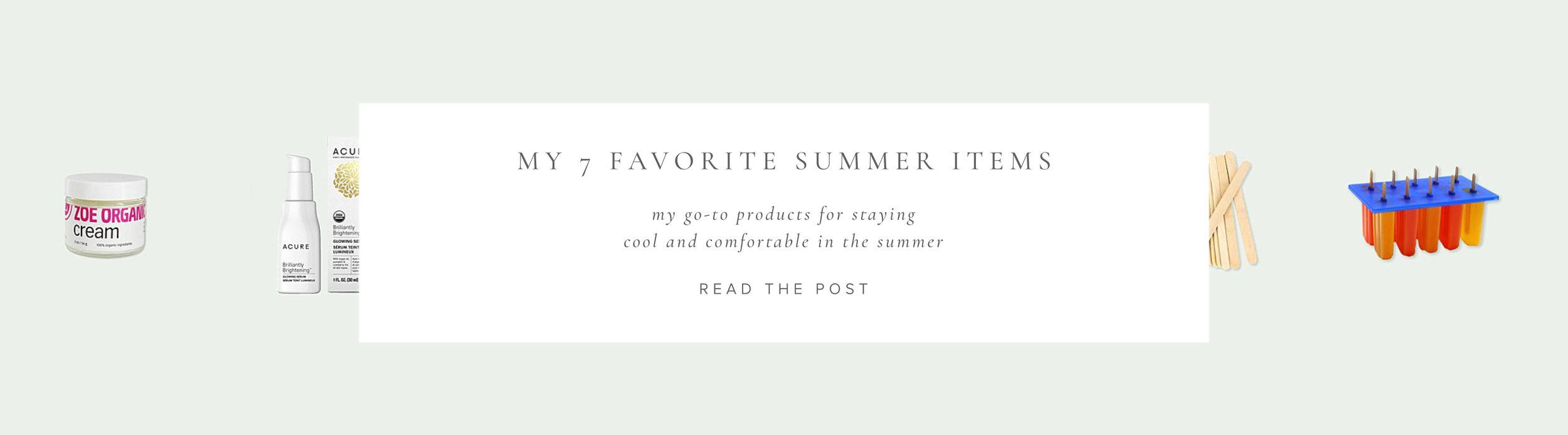 My 7 Favorite Summer Items   Aiane Karla   www.aianekarla.com