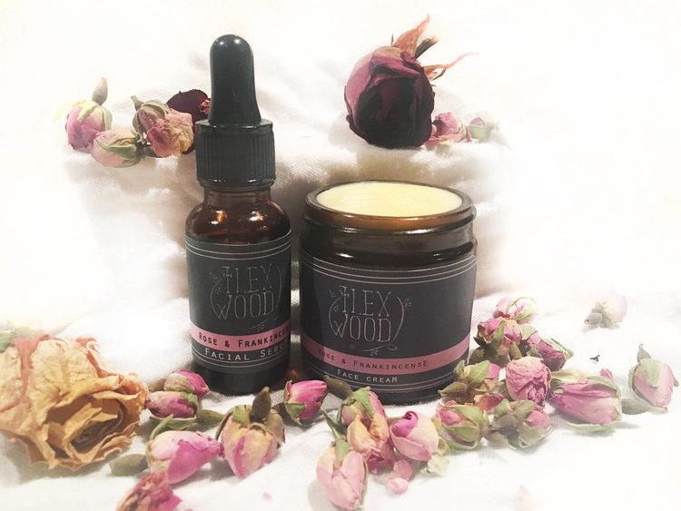 Rose and Frankincense Gift Set
