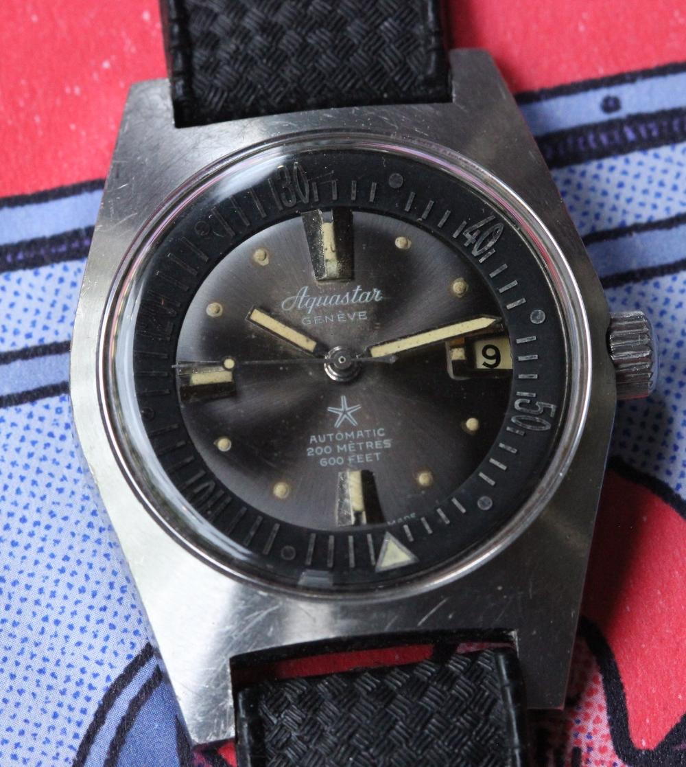Aquastar Geneve: Dive Watch