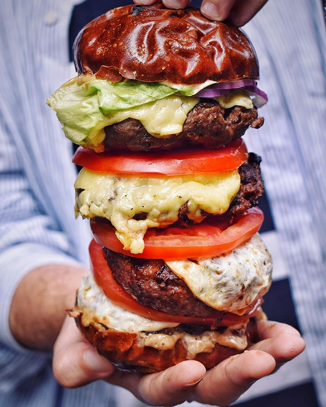 Wednesday Fuel⛽️ Burgers on Burgers on Burgers🍔 Tag your #burger buddy below! #HFC