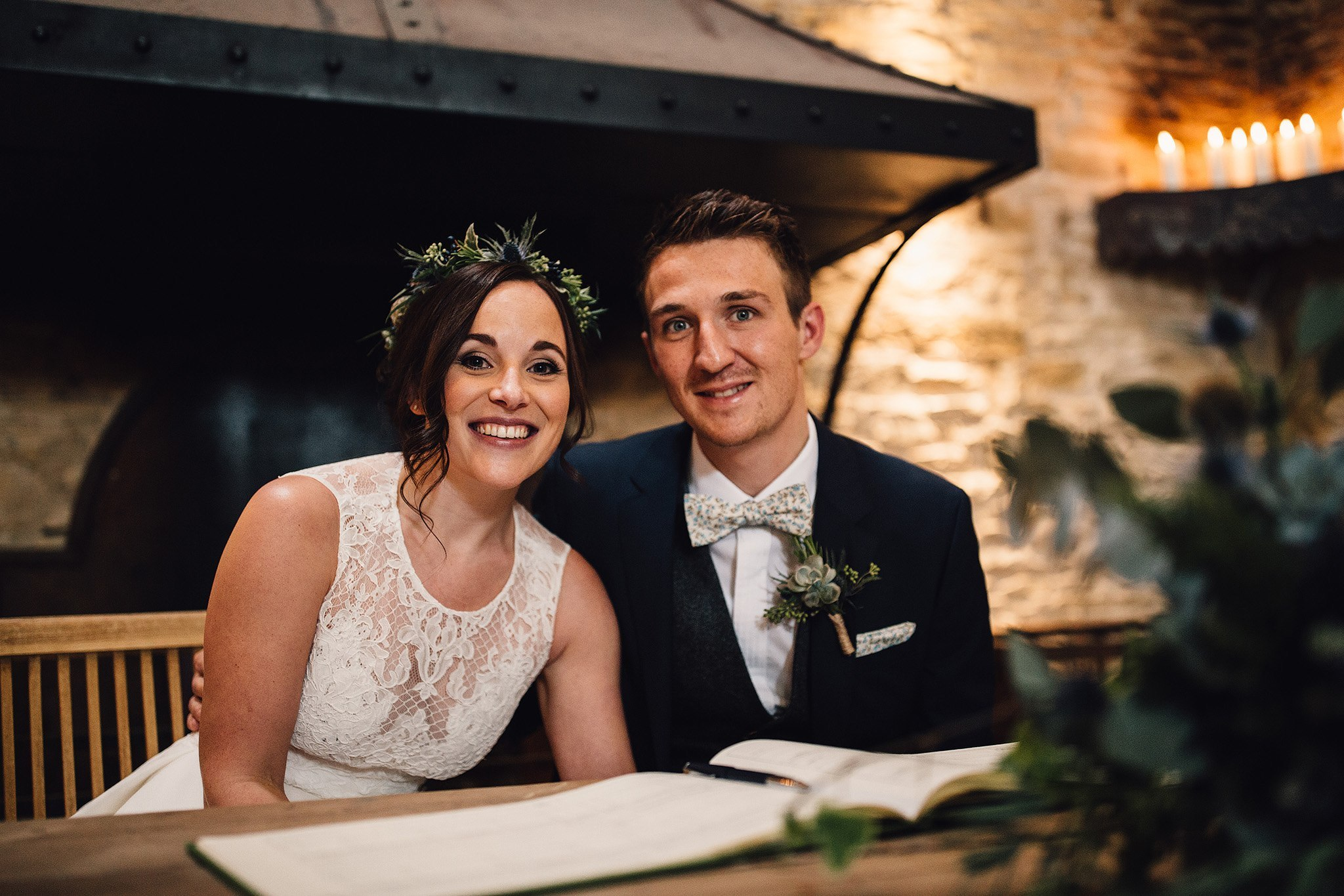 Wedding Hair Cripps Barn