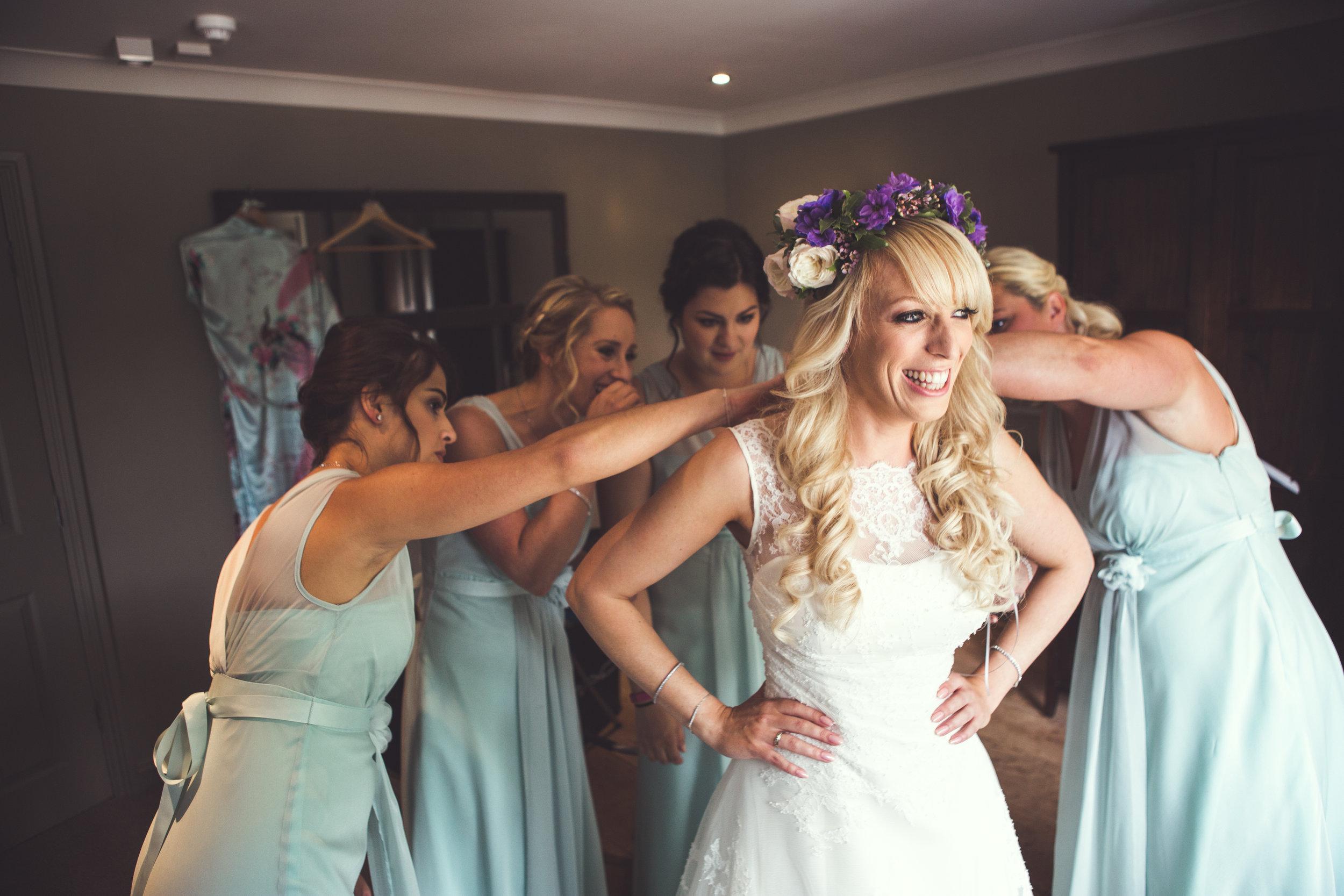 Cripps Barn Hair Wedding
