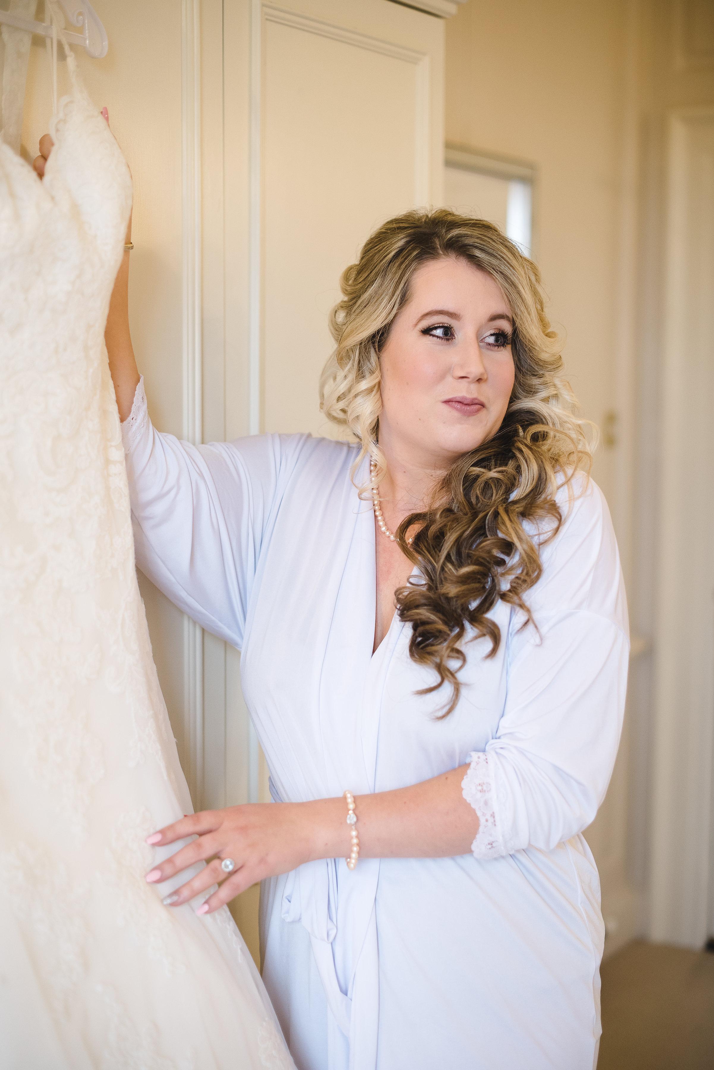 Lower Slaughters Bridal Wedding Hair