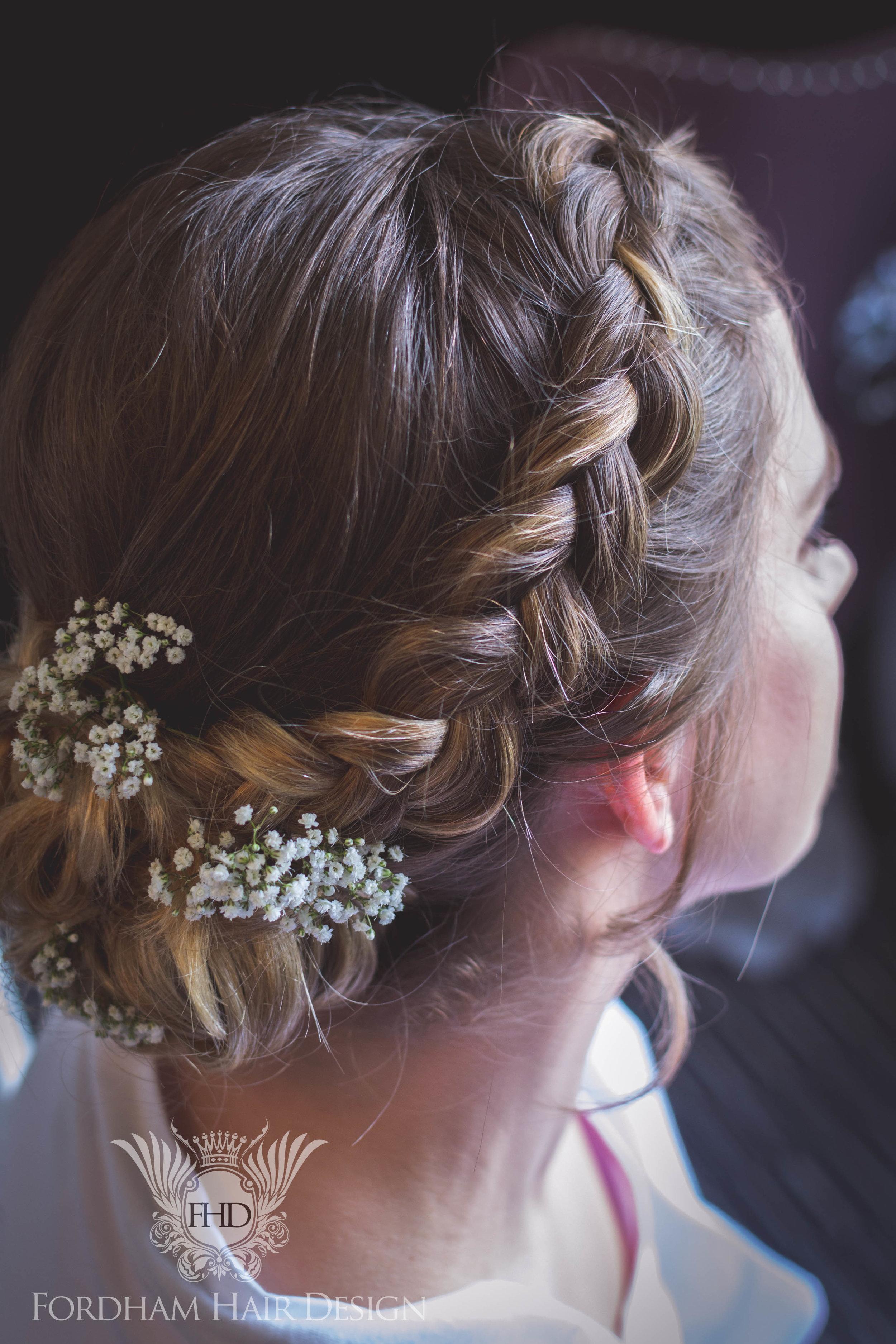 Wedding Hair Stylist Cripps Barn