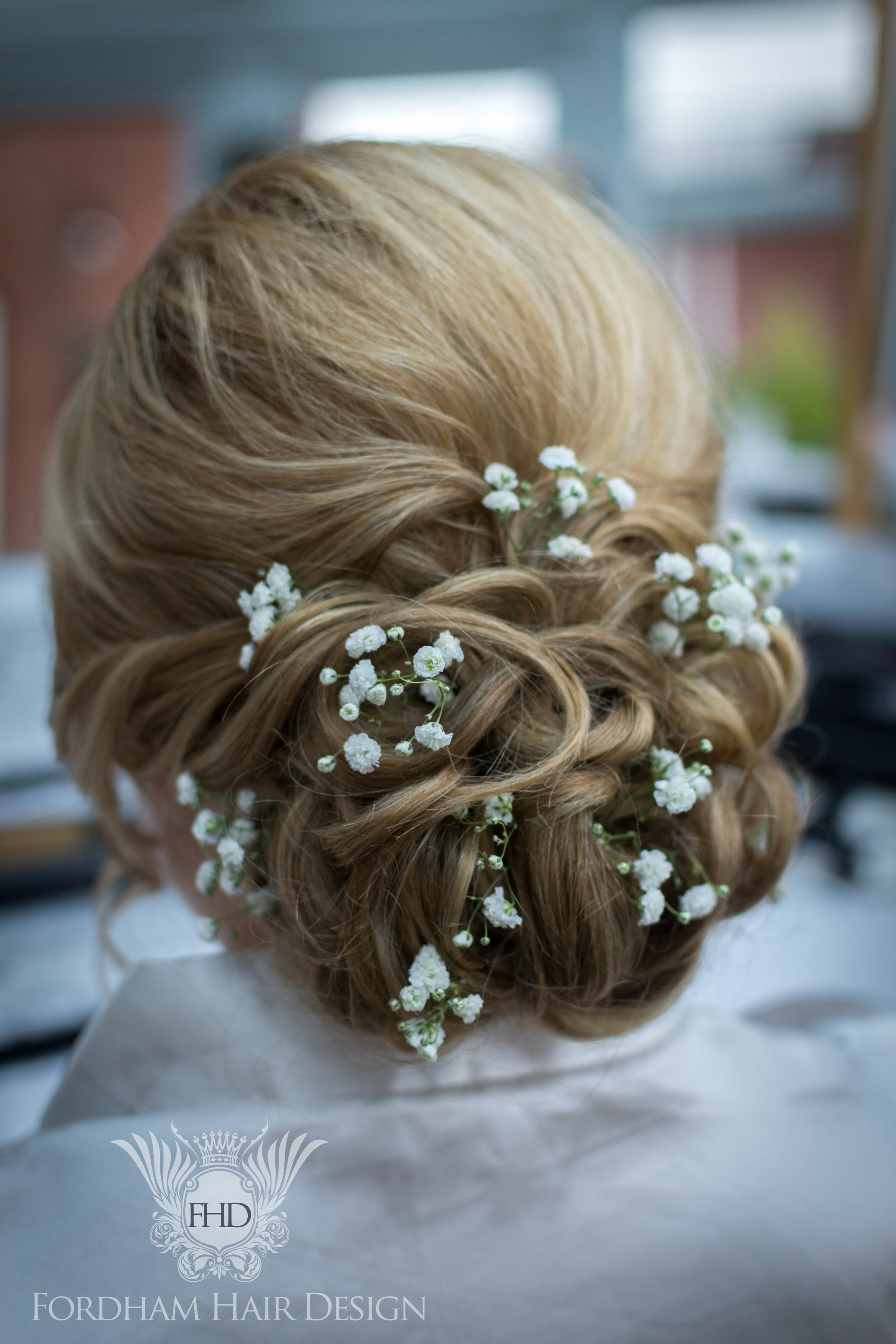 Wedding Hair and Make up Great Tythe Barn