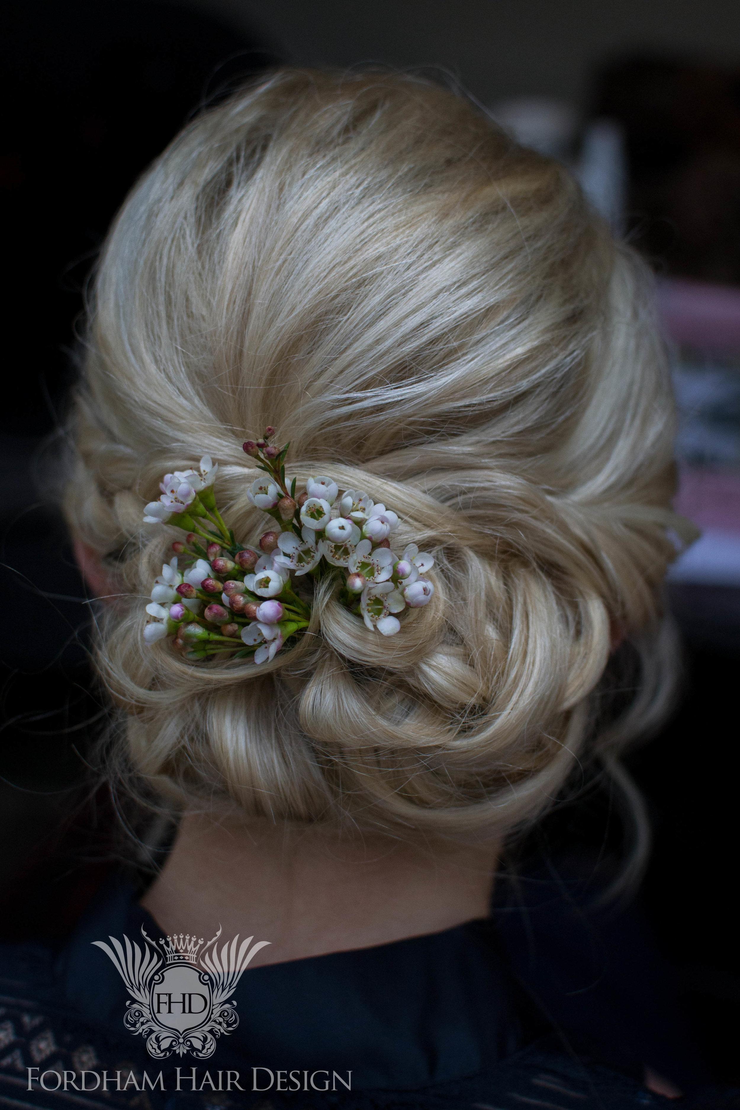 Hairdresser Wedding Cotswolds