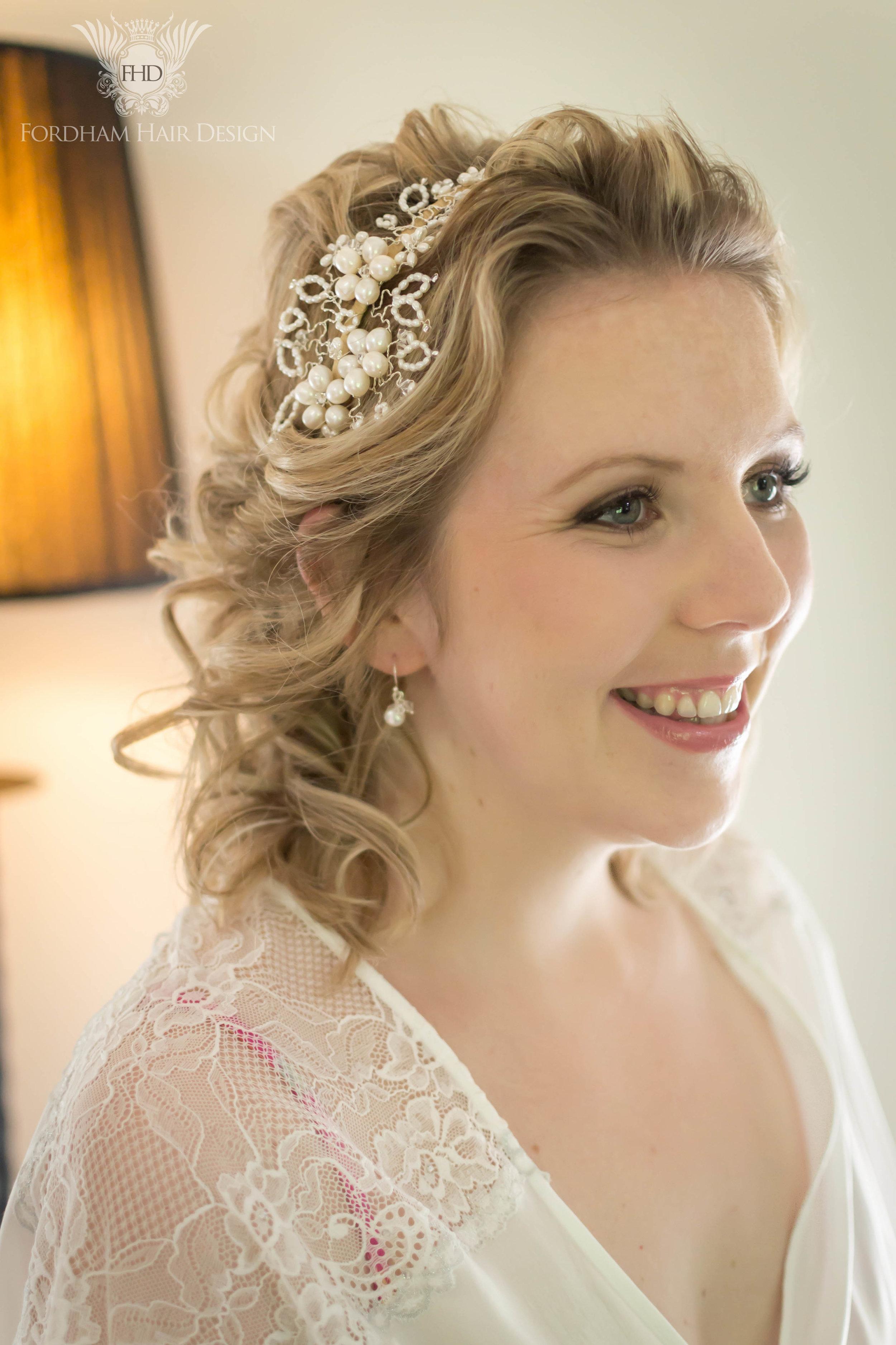 Eastington Park Wedding Hair