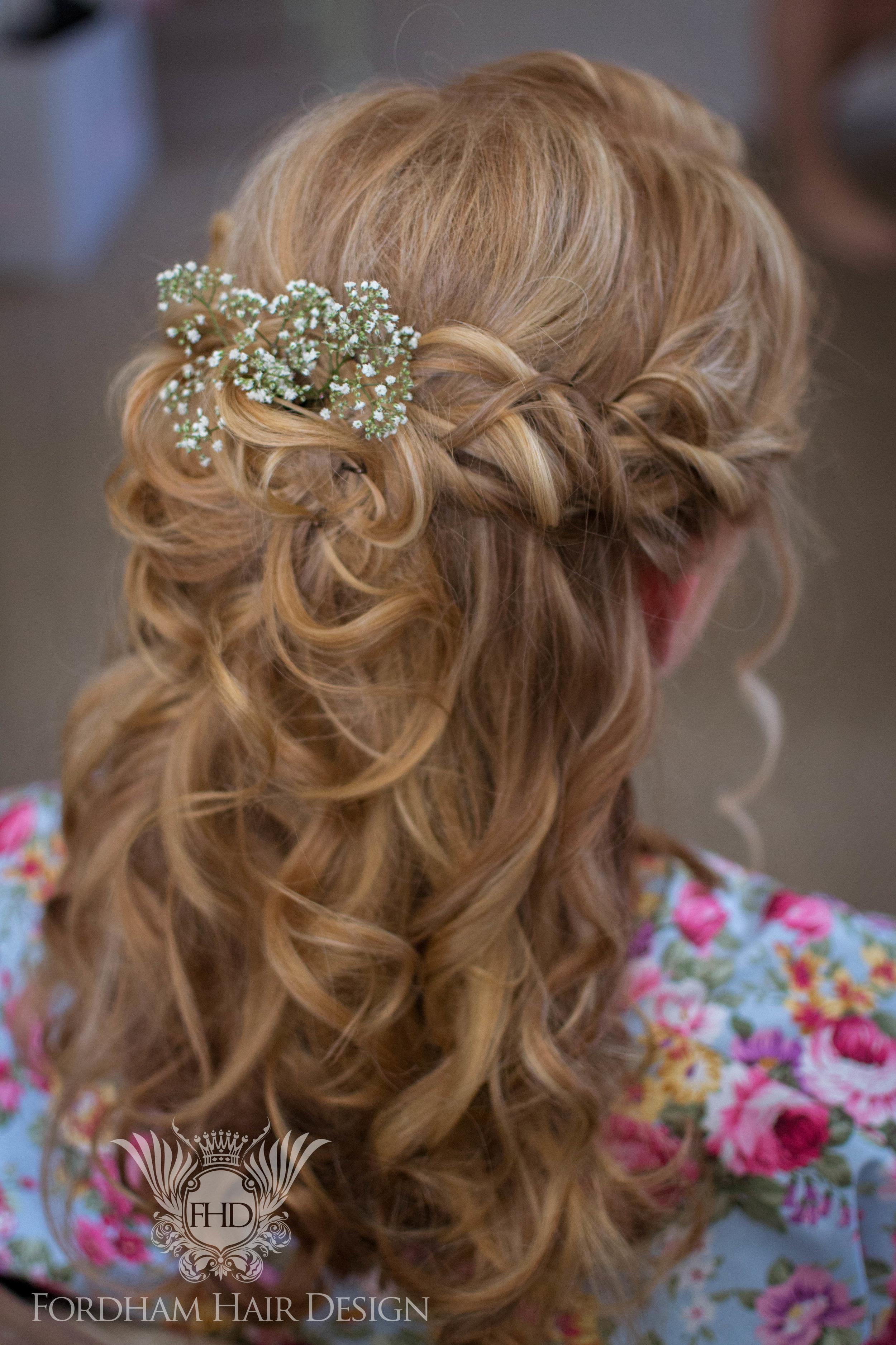 Wavey Wedding Hairstyle