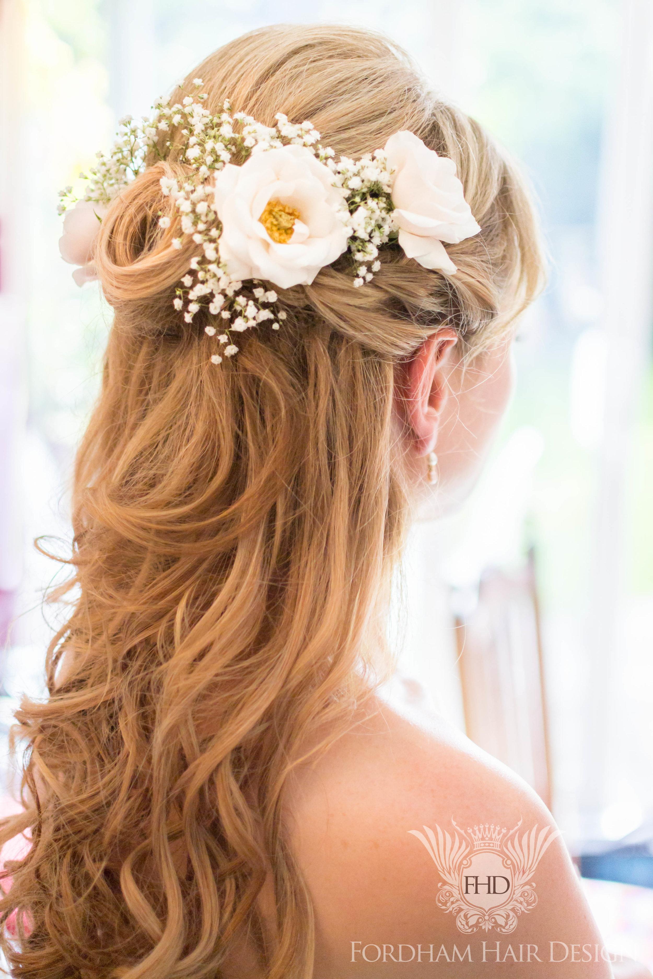 Berkley Castle Wedding Hair