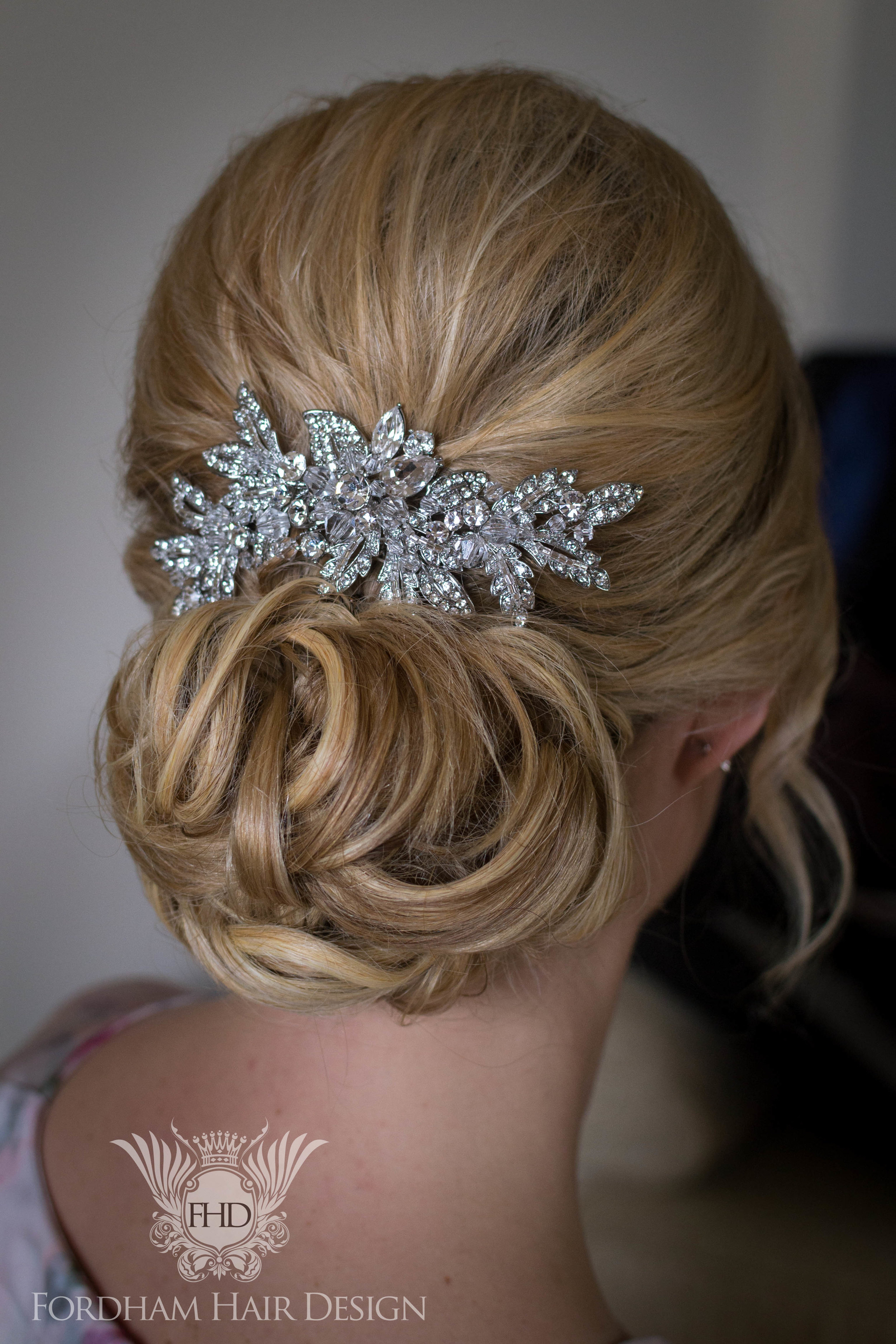 Fantastic Wedding Hair Cotswolds