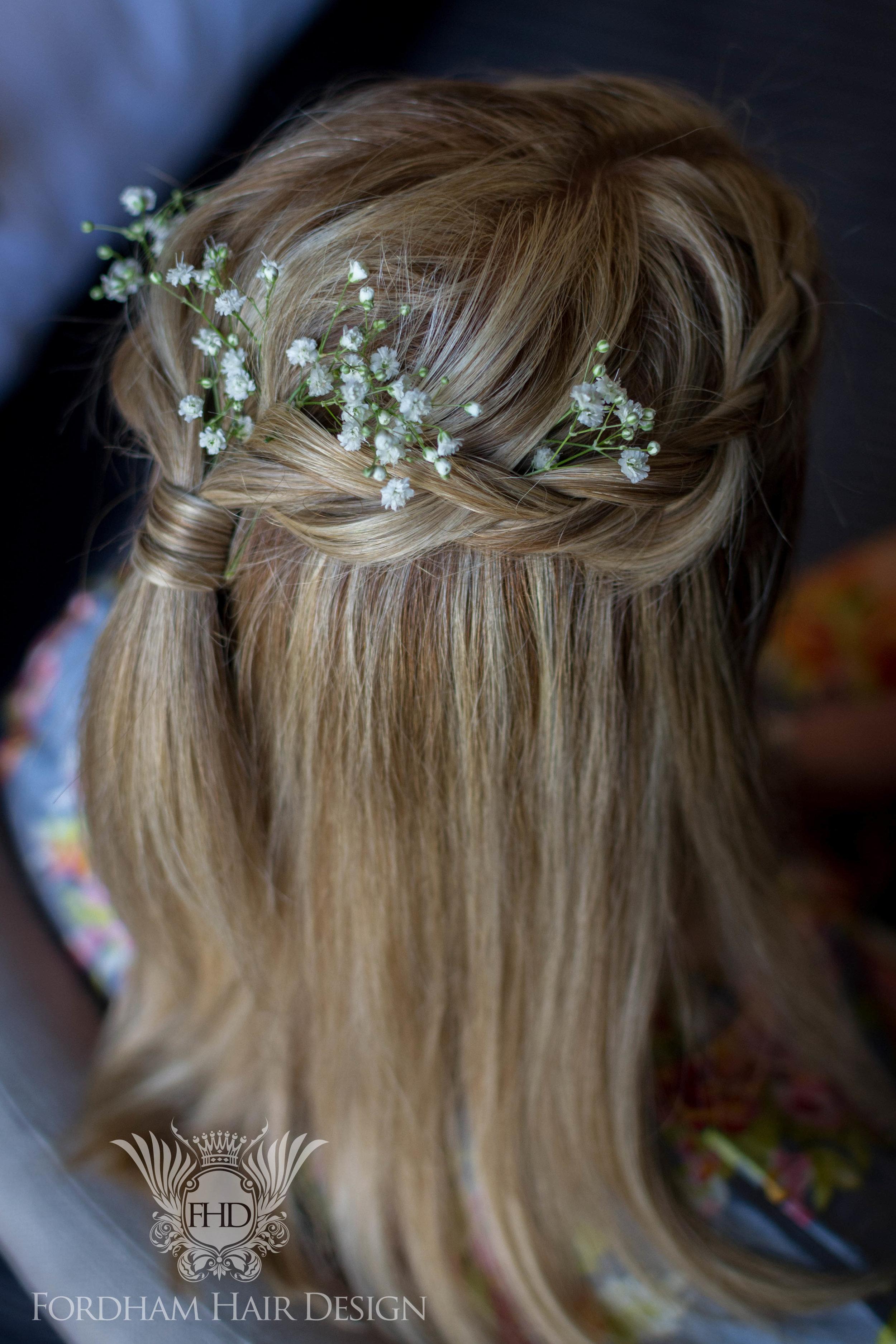 Wedding Hair Elmore Court