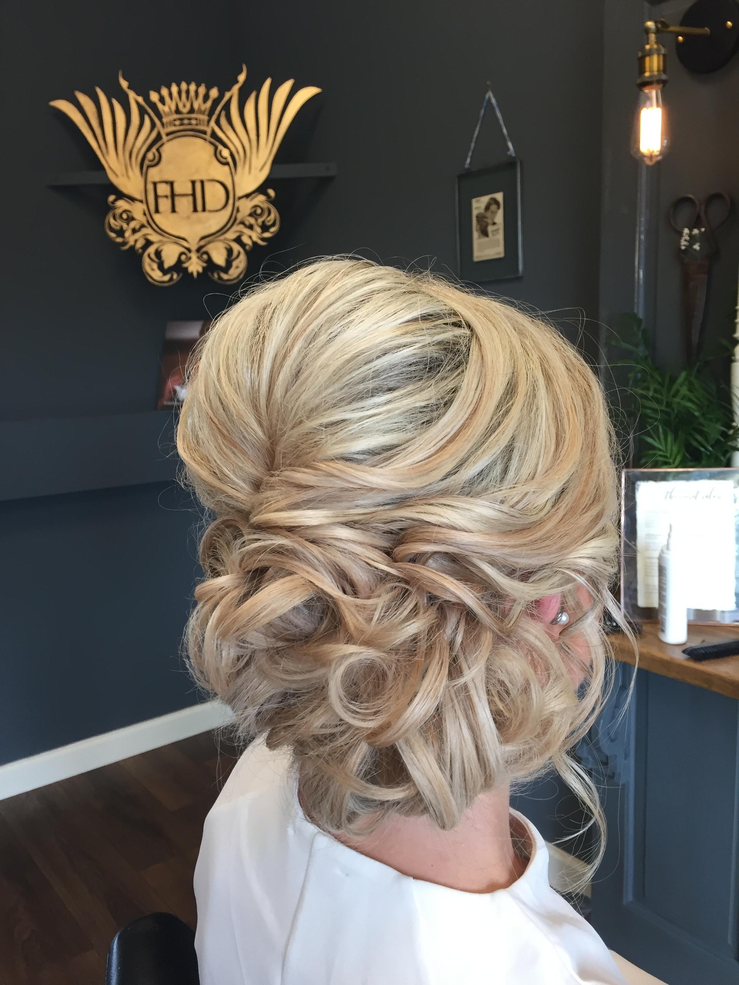 Ellenborough Park Wedding Hair