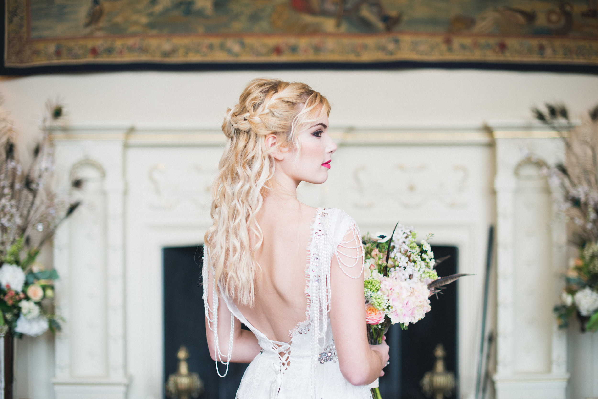Elmore Court Boho Wedding Hair