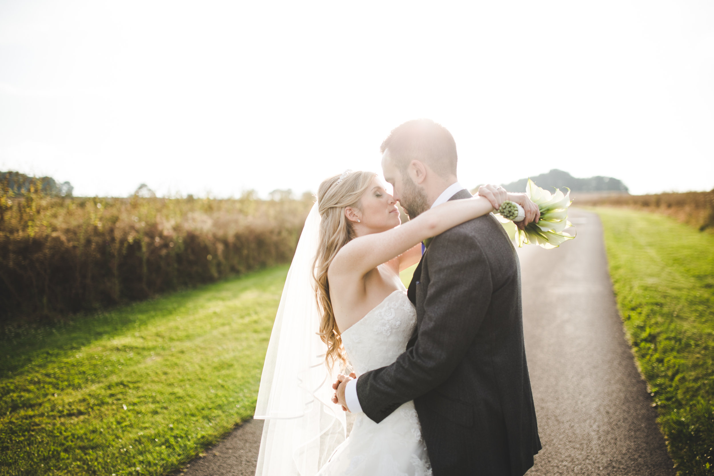 Kingscote Bride and groom