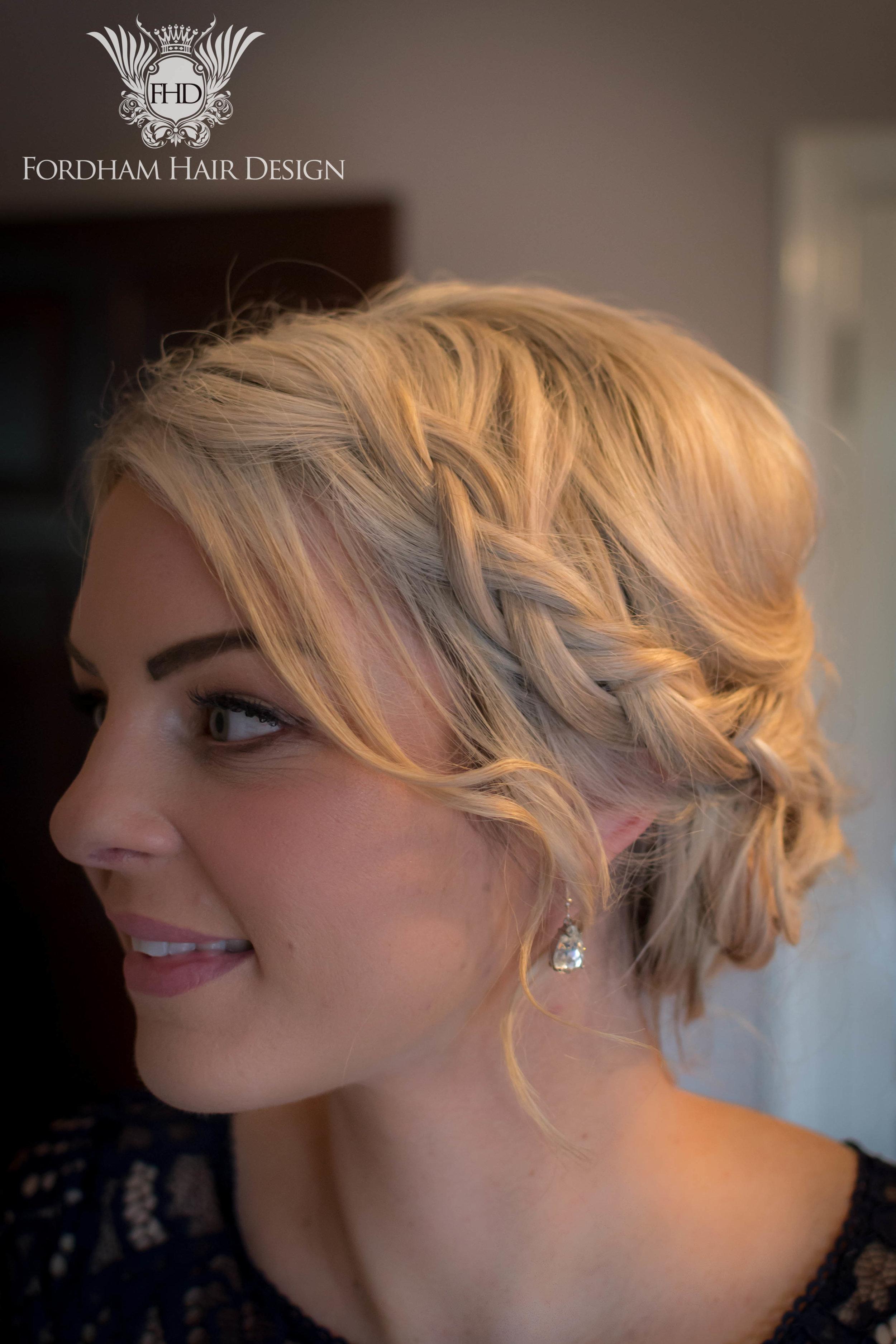 Boho Braid Wedding Hair