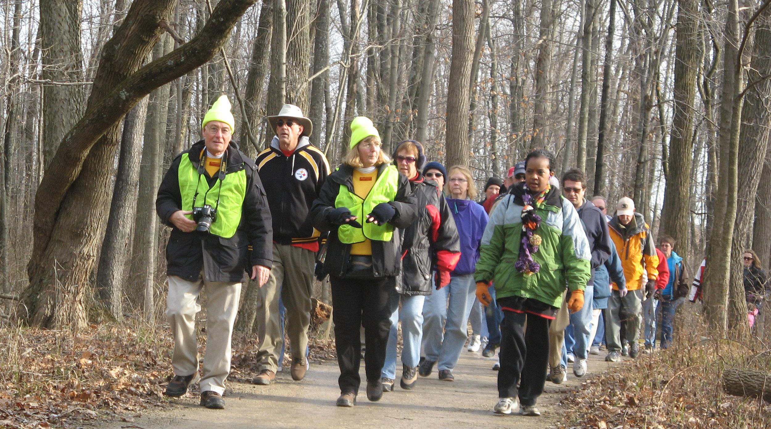 2012 BLK Winter Hike_volunteers lead hike_DC.jpg