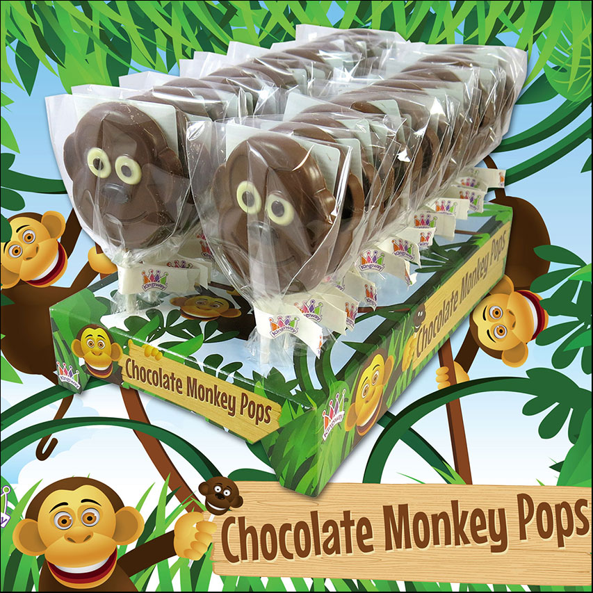 Kingsway Confectionery Monkey Packaging